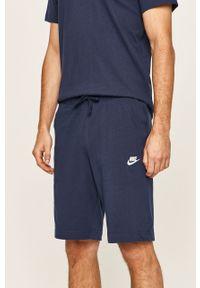 Niebieskie szorty Nike Sportswear na co dzień, sportowe