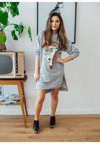 Szara sukienka Fanaberia.com