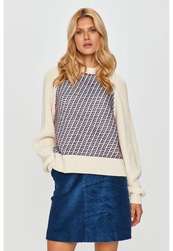 Wielokolorowy sweter Sportmax Code z długim rękawem, długi, klasyczny