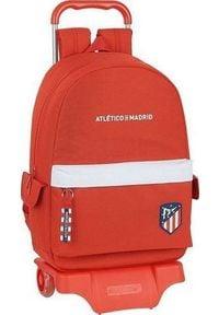 Atletico Torba szkolna z kółkami 905 Atltico Madrid Biały Czerwony. Kolor: biały, wielokolorowy, czerwony