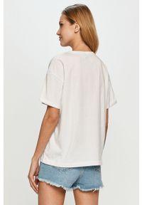 Biała bluzka casualowa, na co dzień