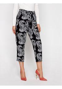 Spodnie materiałowe Silvian Heach w kolorowe wzory