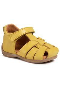 Żółte sandały Froddo