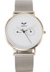 Zegarek Vendetta unisex Alberta VE1083 biały. Kolor: biały