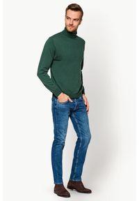 Niebieskie jeansy Lancerto długie