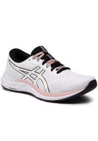 Białe buty do biegania Asics z cholewką