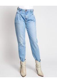 ONETEASPOON - Jeansy Pacifica Streetwalkers High Waist. Okazja: na co dzień, na spacer. Stan: podwyższony. Kolor: niebieski. Długość: długie. Styl: casual, vintage