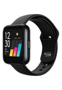 Czarny zegarek REALME smartwatch