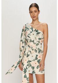 Wielokolorowa sukienka Billabong dopasowana