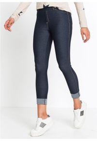 """Legginsy o wyglądzie dżinsów bonprix niebieski """"stone"""". Kolor: niebieski"""