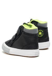 Czarne buty zimowe Converse