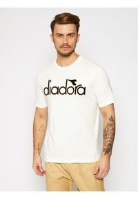 Beżowy t-shirt Diadora