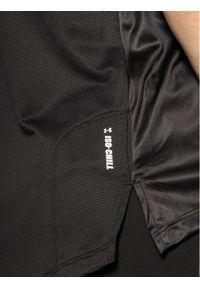 Czarna koszulka sportowa Under Armour do biegania