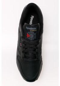 Czarne buty sportowe Reebok na obcasie, z cholewką, na średnim obcasie #6