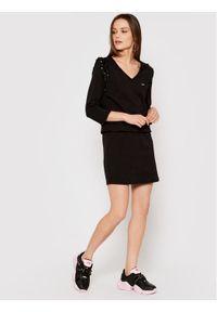Liu Jo Sport Sukienka codzienna TA1060 J6144 Czarny Regular Fit. Okazja: na co dzień. Kolor: czarny. Typ sukienki: proste, sportowe. Styl: sportowy, casual
