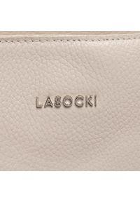 Lasocki - Torebka LASOCKI - BRT-588 White. Kolor: beżowy. Materiał: skórzane. Styl: klasyczny