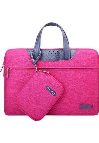 Czerwona torba na laptopa Cartinoe