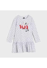 Sinsay - Sukienka 101 Dalmatyńczyków - Jasny szary. Kolor: szary #1