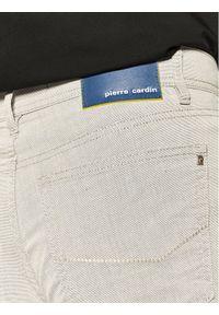 Pierre Cardin Spodnie materiałowe 30917/000/269 Szary Regular Fit. Kolor: szary. Materiał: materiał