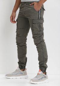 Born2be - Khaki Spodnie Elithileii. Okazja: na co dzień. Kolor: brązowy. Styl: casual