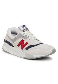 Beżowe buty sportowe New Balance