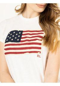 Beżowy t-shirt Polo Ralph Lauren polo