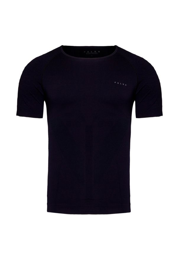 Czarna koszulka termoaktywna Falke na zimę
