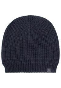 Niebieska czapka zimowa Strellson