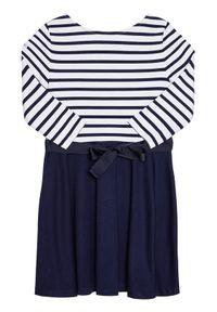 Niebieska sukienka Polo Ralph Lauren prosta, polo, casualowa