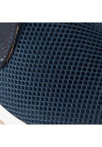 Niebieskie sneakersy Krisbut z cholewką
