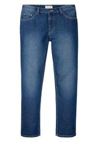 """Dżinsy Regular Fit Straight, bawełna organiczna bonprix niebieski """"stone"""". Kolor: niebieski"""