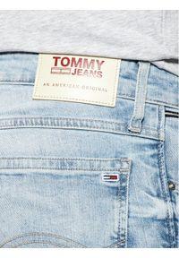 Niebieskie spodenki jeansowe Tommy Jeans