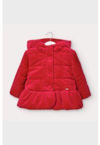 Czerwona kurtka Mayoral z kapturem