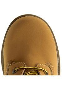 Brązowe buty zimowe skechers
