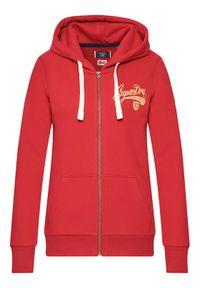 Superdry Bluza Collegiate W2011182A Czerwony Regular Fit. Kolor: czerwony #5