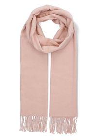 Różowy szalik Lancerto na co dzień, elegancki