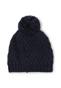 Niebieska czapka Eider
