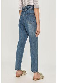 Niebieskie jeansy loose fit Haily's gładkie