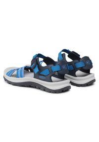 keen - Sandały KEEN - Terradora II Strippy Open Toe 1024876 Navy/Mykonos Blue. Nosek buta: otwarty. Kolor: niebieski. Materiał: skóra, materiał. Sezon: lato
