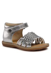 Srebrne sandały Naturino