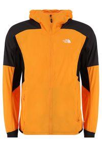Pomarańczowa kurtka do biegania The North Face