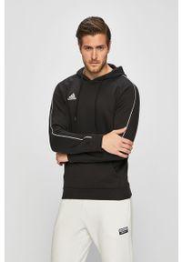 Czarna bluza nierozpinana adidas Performance z nadrukiem, na co dzień