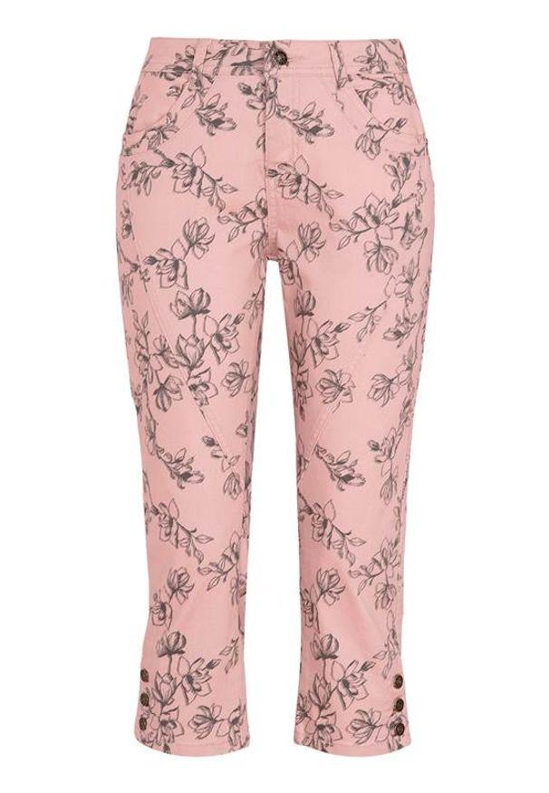 Różowe spodnie Cellbes