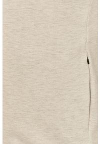 Szara bluza nierozpinana s.Oliver gładkie, bez kaptura, na co dzień