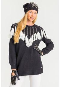 Sweter TwinSet na spacer, krótki