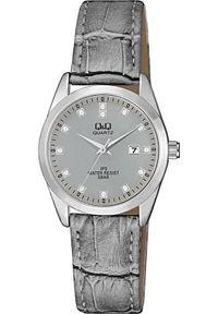 Szary zegarek Q&Q klasyczny