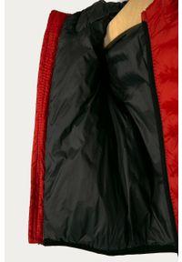 Brązowa kurtka OVS casualowa, z kapturem