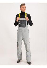 Szare spodnie sportowe DC narciarskie