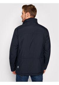 Niebieska kurtka zimowa Pierre Cardin