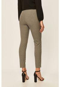 Szare spodnie materiałowe Stefanel na co dzień, melanż, casualowe